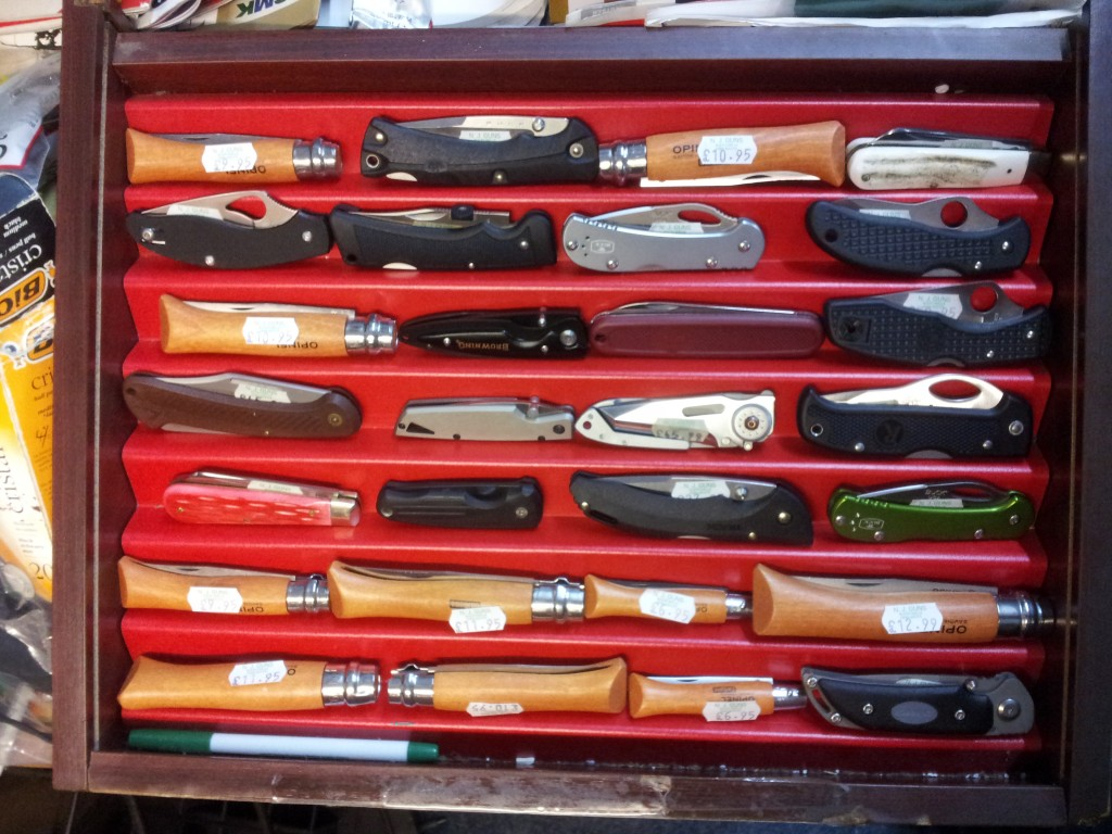 Range of Knives