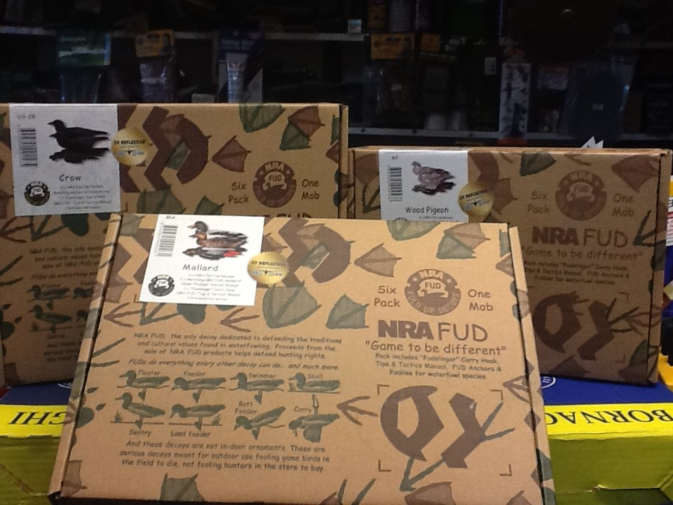 NRA fold up decoys